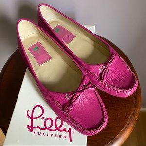 Lily Pulitzer Corey Leather Flats